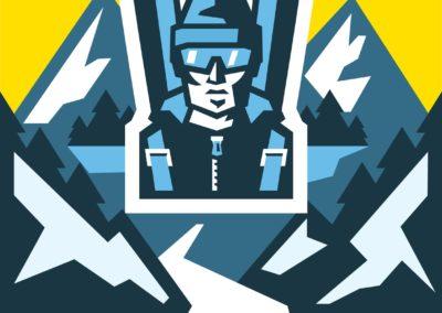 Concours de ski 2020